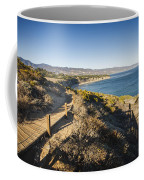 California Coastline From Point Dume Coffee Mug