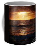 California Grunge Sunset Coffee Mug
