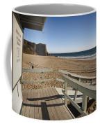 California Lifeguard Shack At Zuma Beach Coffee Mug