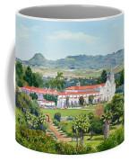 California Mission San Luis Rey Coffee Mug by Mary Helmreich