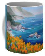 California Poppies Big Sur Coffee Mug