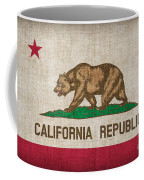 California State Flag Coffee Mug by Pixel Chimp