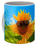 California Sunflower Coffee Mug by Bill Gallagher