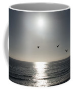 California Seagulls Where Are They Headed Coffee Mug
