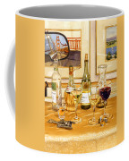 California Wine And Watercolors Coffee Mug by Mary Helmreich