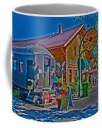 Calistoga Depot Coffee Mug