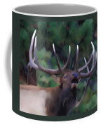 Call Of The Wild Coffee Mug by Shane Bechler