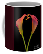 Calla Lillies Kissing Coffee Mug