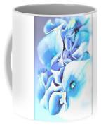 Calla Lilly So Soft Lilac And Blue Coffee Mug