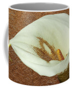Calla Lily Gold Leaf Coffee Mug
