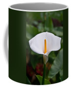 Calla Lily Laterally Expanded Coffee Mug