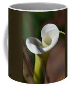 Calla Lily Swirl Coffee Mug
