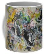 Calligraphy Abstract 03 Coffee Mug
