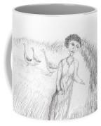 Calling In The Geese Coffee Mug