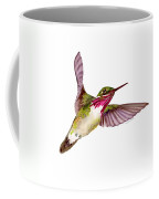 Calliope Hummingbird Coffee Mug by Amy Kirkpatrick