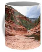Calm Day At Slide Rock Coffee Mug