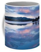 Calm Twin Lakes At Sunset Yukon Territory Canada Coffee Mug