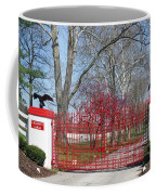 Calumet Farm Entrance Coffee Mug by Roger Potts