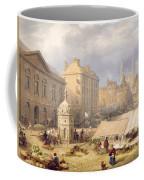 Cambridge Market Place, 1841 Coffee Mug