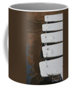 Cambridge Winter Punts Coffee Mug