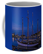 Camden Harbor Maine At 4am Coffee Mug
