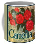 Camellia Crate Label Coffee Mug