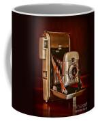 Camera - Vintage Polaroid Land Camera 80 Coffee Mug