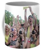Cameras In The Crowd Coffee Mug