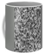 Camouflage Gray Black And White Cross Coffee Mug