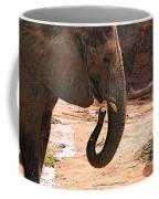 Camouflaged Elephant Coffee Mug