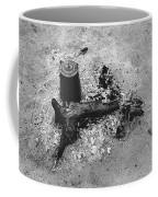 Camp Fire Fall Cattle Round-up Tohono O'odham Indian Reservation Near Sells Arizona 1969 Coffee Mug