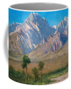 Camp Independence Colorado Coffee Mug by Albert Bierstadt