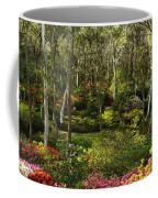 Campbell Rhododendron Gardens 2am 6831-6832 Panorama Coffee Mug