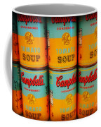 Campbell's Soup Retro Andy Warhol Coffee Mug
