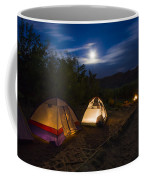 Campfire And Moonlight Coffee Mug