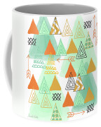 Camping Coffee Mug by Linda Woods