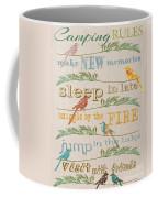 Camping Rules-c Coffee Mug