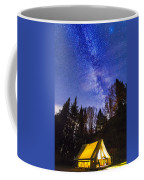 Camping Under The Milky Way Coffee Mug