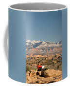 Camping With Laptop Coffee Mug
