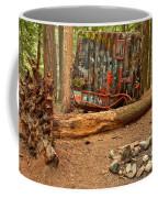 Campsite By The Box Car Coffee Mug
