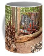 Campsite Near A Train Wreck Coffee Mug