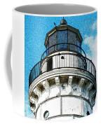 Cana Island Lighthouse Tower Coffee Mug
