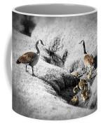Canada Geese Family Coffee Mug