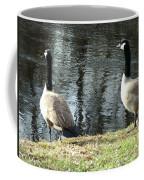 Canadian Geese On Spaulding Pond Coffee Mug