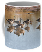 Canadian Geese Stop Over Coffee Mug