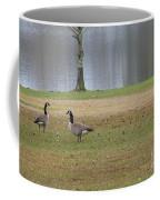 Canadian Geese Tourists Coffee Mug