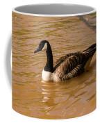 Canadian Goose In On Golden Pond Coffee Mug