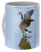 Canadian Goose Stretching Coffee Mug