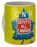 Canadian National Railway Stamp Coffee Mug