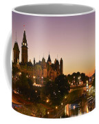 Canadian Parliament Buildings Coffee Mug by Tony Beck